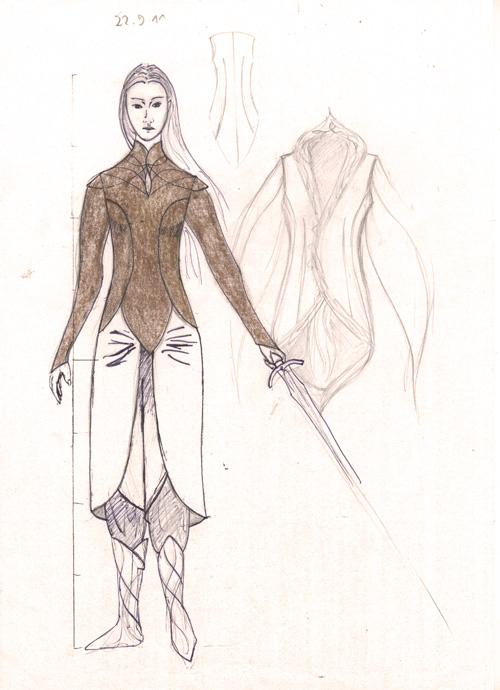 Velourhemd für Elrian