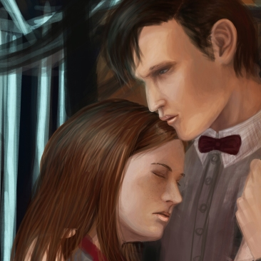 DW The Doctor and the girl who waited face datail