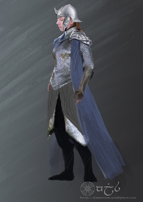 Elrian Armor mod side