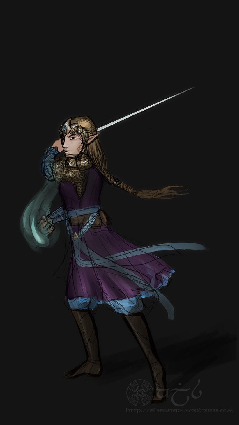 Zelda in Badass